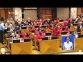 Julius Malema And EFF Disrupts Election Of Ramaphosa