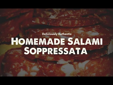 Soppressata made at home with UMAi Dry®