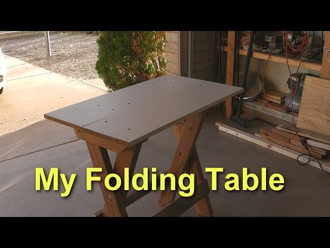 An Amazing Folding Table