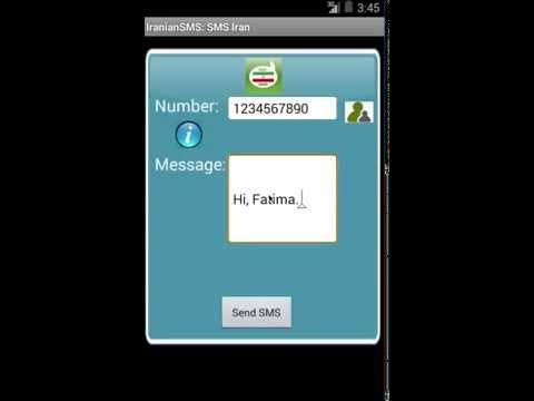 Free SMS Iran Android SMS App Review