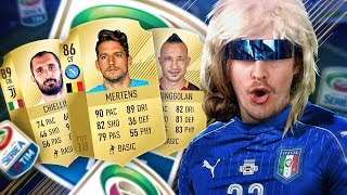 NAINGGOLAN AND MERTENS ARE INSANE! FIFA 18 VS A PRO! CRAZY SERIE A SQUAD! FIFA 18 ULTIMATE TEAM