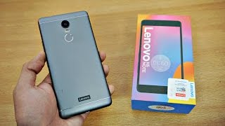 Lenovo K6 NOTE - Unboxing & First Look! (4K)