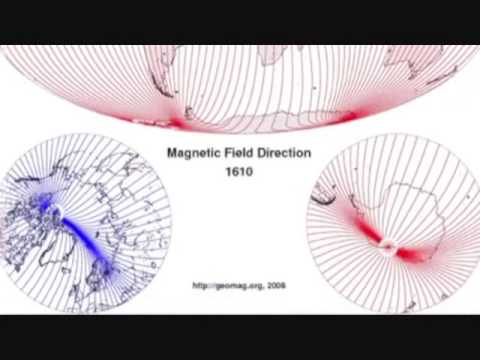 Magnetic North Pole Shift Analysis