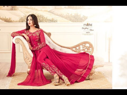 Latest Indian Dresses Collections 2017 || Sonal Chauhan  Anarkali Suits || Maisha Maskeen