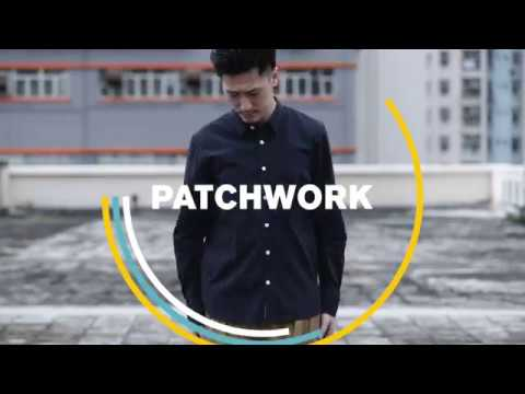 ad-lib SS18 Patchwork Shirt 拼貼恤衫