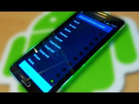Samsung Galaxy Note 3 Notification / Ringtones
