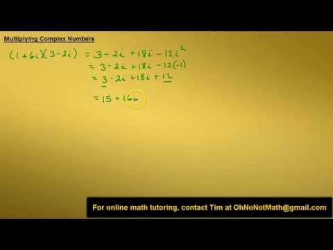 Multiplying Complex Numbers, Example 2
