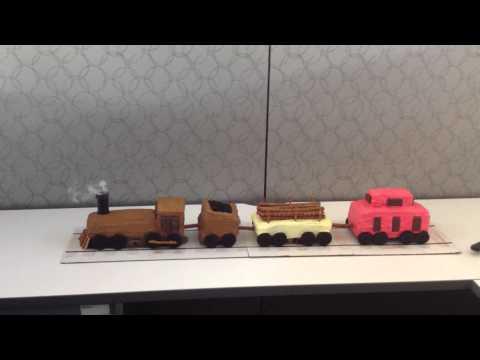 Train Cake! (Part 1)