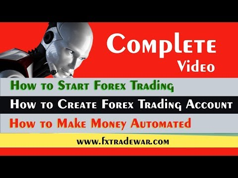 How to Start Forex Trading - Create new Trading Account - Make Money with automated software