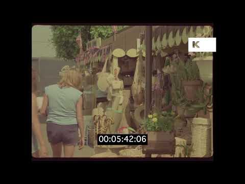1970s Farmers Market, Los Angeles in HD from 35mm | Kinolibrary