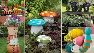 Download Budget Friendly and Fun Garden Projects Made with Clay Pots Video