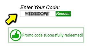 New Roblox Promo Code 2018