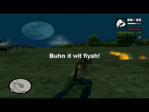 GTA San Andreas - Attacking the