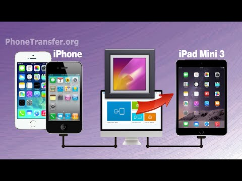 How to Transfer Photos from iPhone to iPad Mini 3, iPhone Pictures to iPad Mini 3 / 4