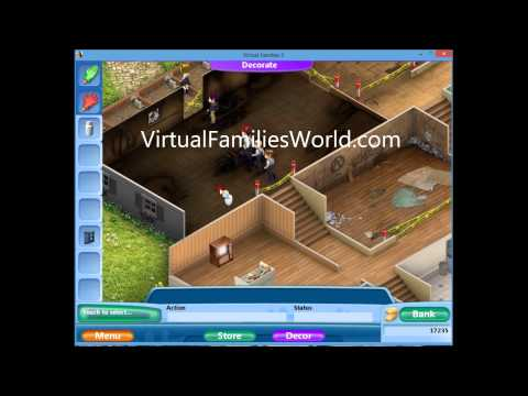 How To Expand Home Back Deck On Virtual Families 2