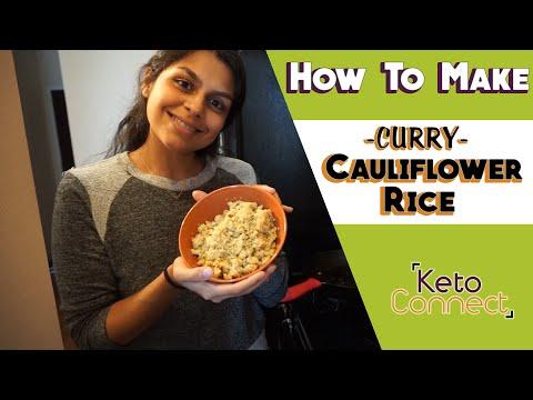 How To Make Cauliflower Rice (Keto Cooking Video!)