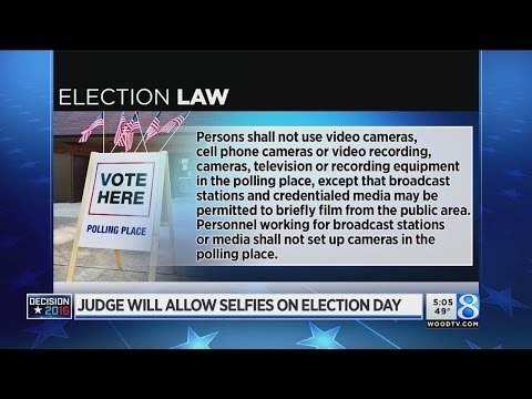 Federal judge clears way for November ballot selfies in MI