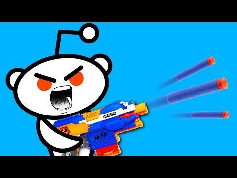Top 10 BEST NERF BLASTERS According To Reddit!