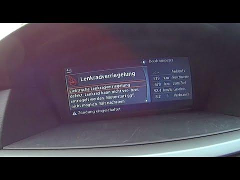 Reset ELV counter Red steering wheel - Bmw E60 Steering Lock