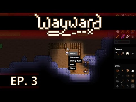 ★ Wayward gameplay - Ep 3 - Build a house - early access / Steam (let's play) beta 2.0