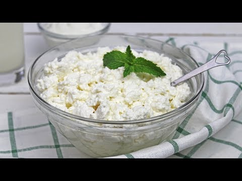 Homemade Cottage Cheese | How To Make Cottage Cheese | Homemade Row Milk Cottage Cheese