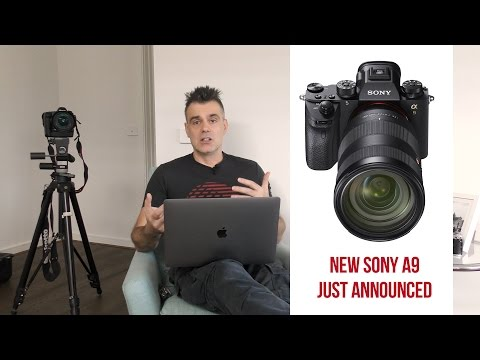 Sony Releases the New A9 mirrorless - Could this be the Canon and Nikon Killer?