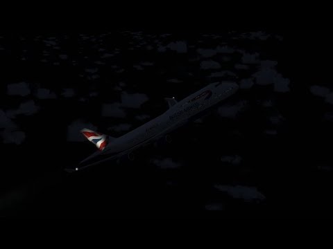 Pushing a Boeing 747 To The Limit - British Airways Flight 2069 - P3D