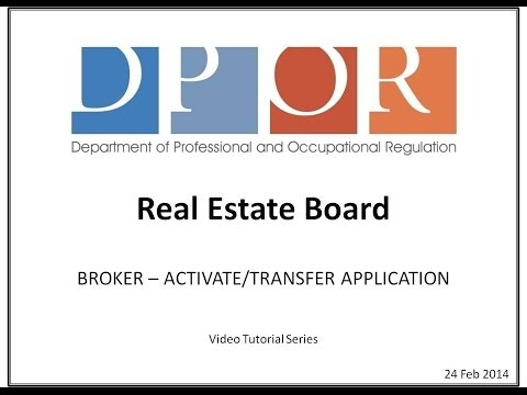 Activate/Transfer Paper Application for BROKERS