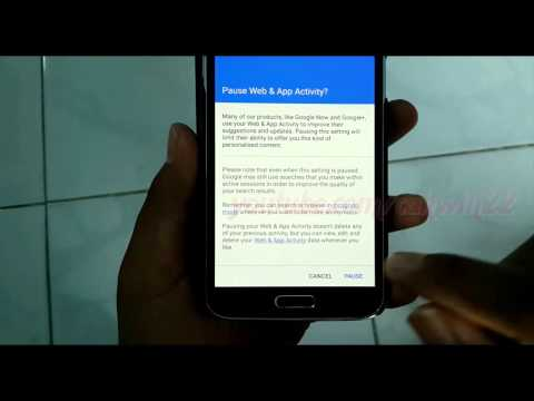 Google Search & Now : How to Turn off or Turn on Web & App Activity History in Samsung Galaxy S5