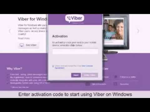 Viber for Windows 8, 7 PC for Free Calling