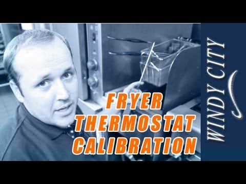 How to temp out a fryer calibrate thermostat tutorial DIY Windy City Restaurant Equipment Parts