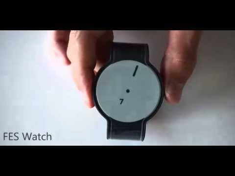FES Watch é o primeiro que muda todo o seu design, incluindo na bracelete