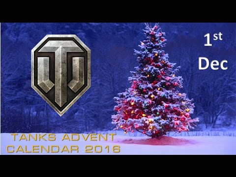 1st Day of Christmas - Advent Calendar ¦¦ World of Tanks