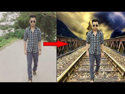 How to change background in Photoshop CS6 | Photoshop Tutorials