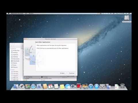 Apple Migration Assistant