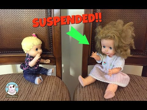 Baby Alive Bully gets suspended from school