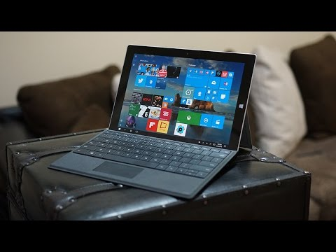 A Week With AT&T's Microsoft Surface 3
