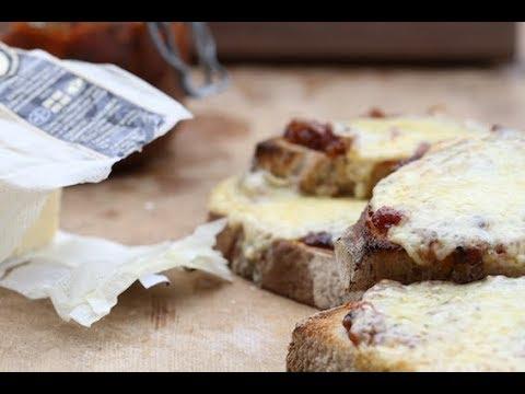 English Muffins with  Chorizo Jam