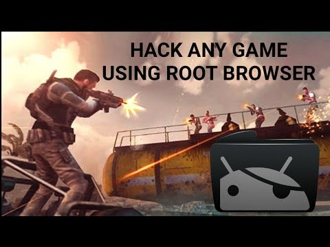 How to hack any android game using root browser