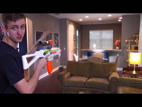 HOW TO NO-SCOPE WITH A NERF GUN!