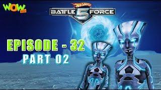 Motu Patlu presents Hot Wheels Battle Force 5 - The Crimson One - S2 E32.P2 - in Hindi