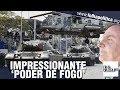 Exército apresenta tanques, blindados e 'poder de fogo' impressionante diante de Bolsonaro