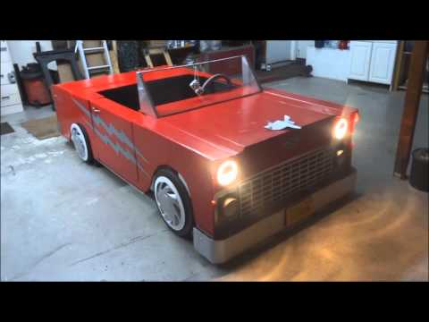 Cardboard Car for the musical Grease!