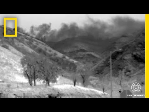 Watch: Massive Gas Leak in California Revealed in Infrared Footage | National Geographic