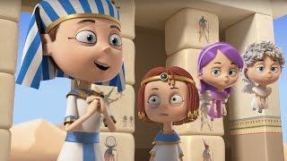 Мультфильм Ангелы Бэби - След в истории (18 серия) | Поучительные мультики для детей