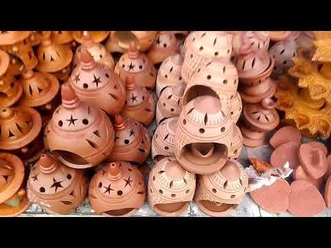यहाँ मिलते है मिट्टी के सस्ते बर्तन ! Clay Pot Wholesale Market In India