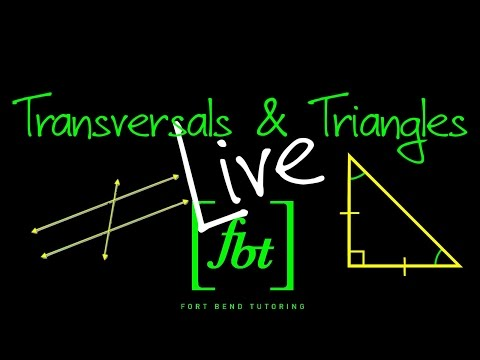 Transversal Lines and Triangles Live [fbt]
