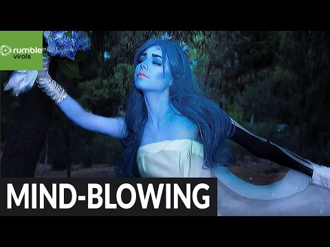 Halloween makeup tutorial: Emily from Tim Burton's 'Corpse Bride'