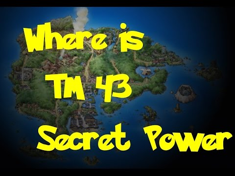 Where Is: TM 43 - Secret Power (Pokemon Ruby/Sapphire/Emerald)