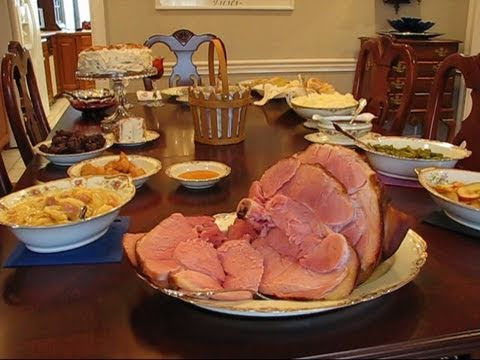 Betty's Easter Dinner Table, 2011
